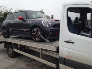 uk car delivery and storage